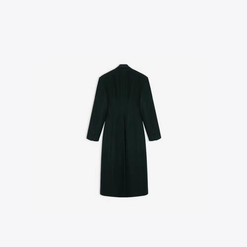 cinched coat