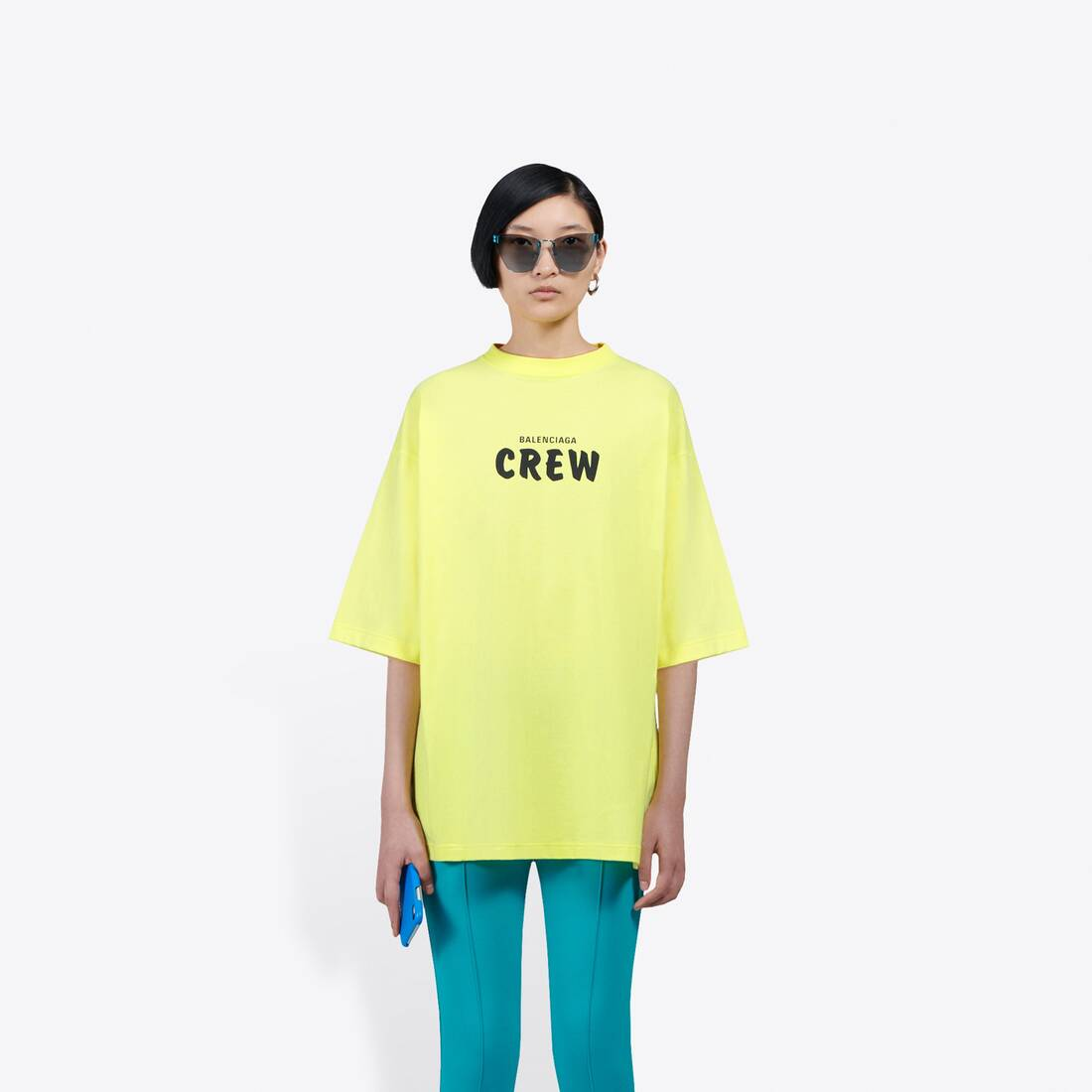 Display zoomed version of crew large fit t-shirt  3