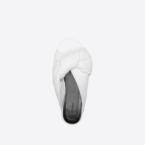 drapy flat sandale