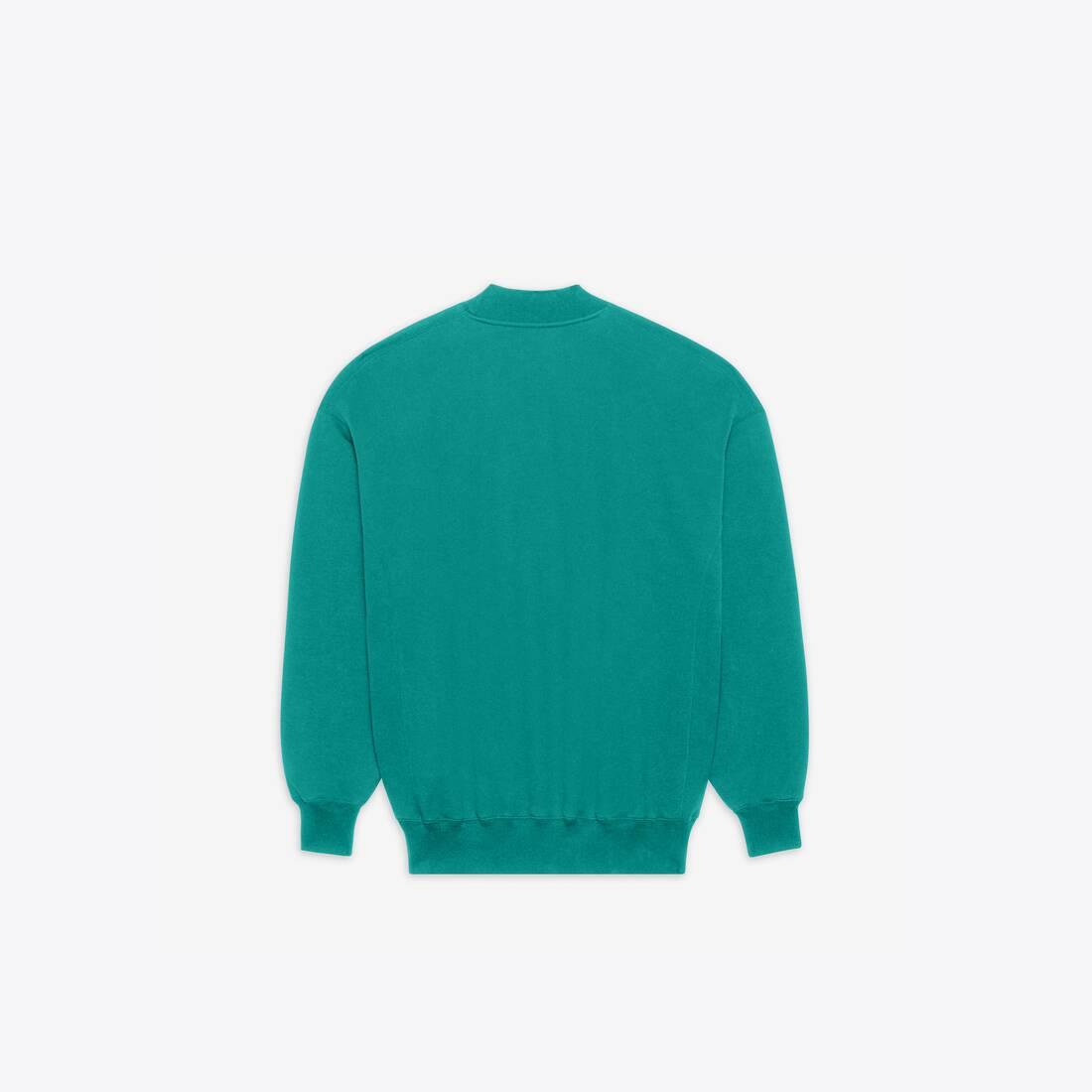 Display zoomed version of real balenciaga 2 crewneck sweater 2