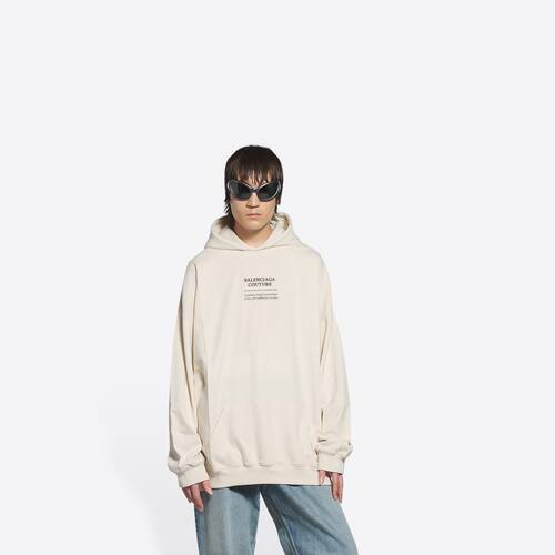 couture boxy hoodie