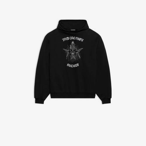 gothic bomber hoodie