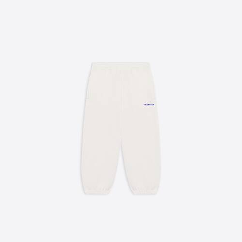 kids - balenciaga logo jogging pants