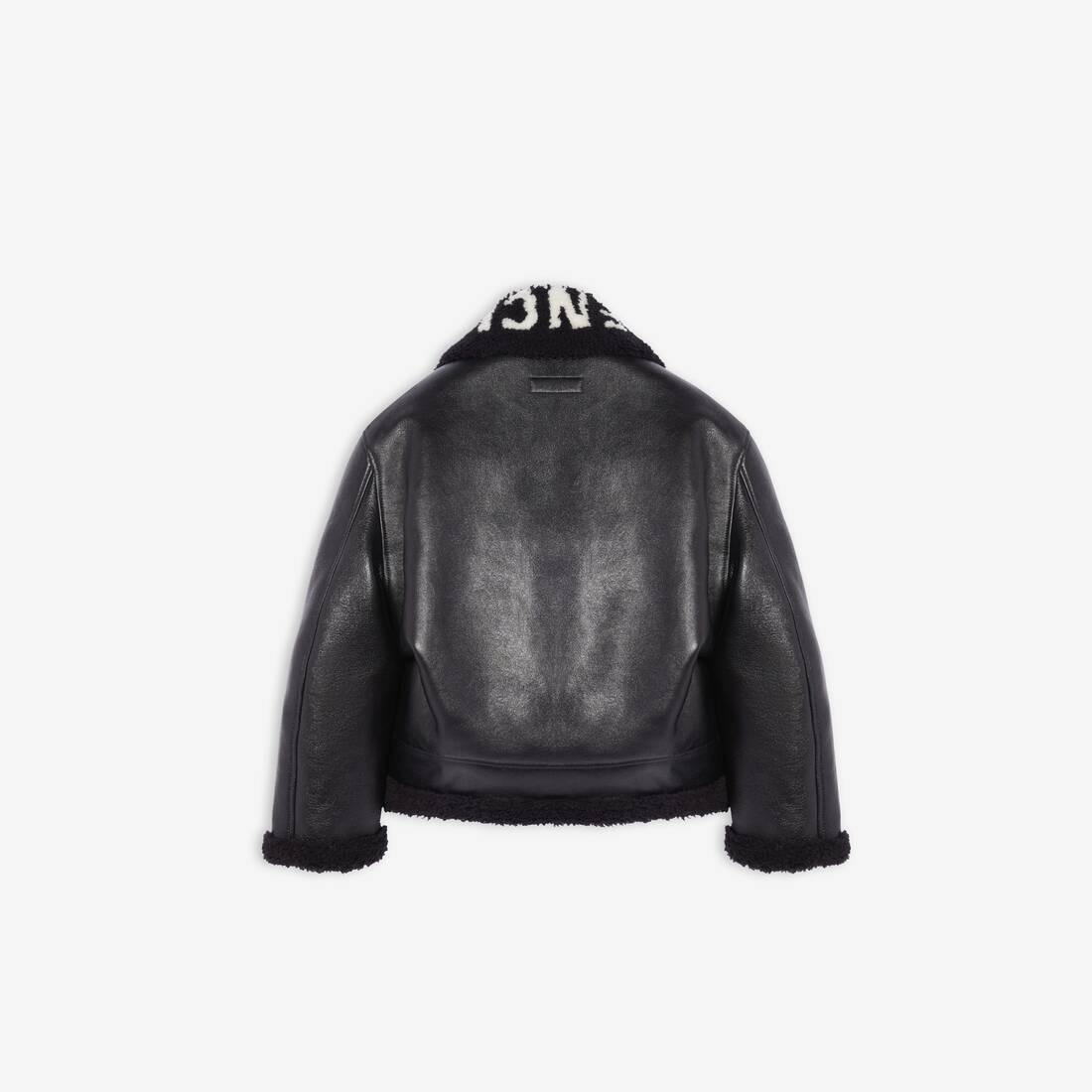 Display zoomed version of cocoon shearling jacket 2
