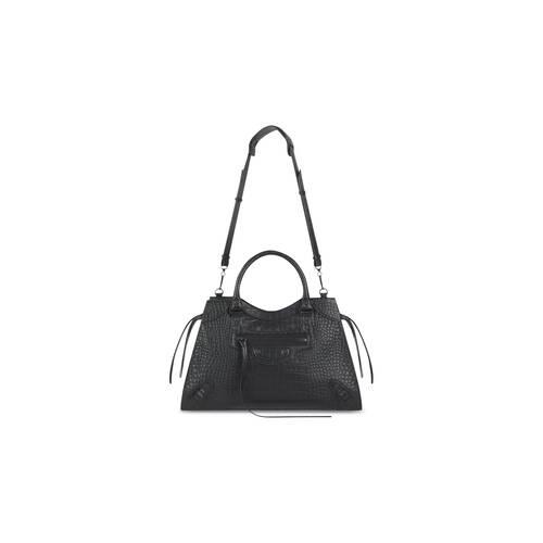 neo classic medium top handle bag