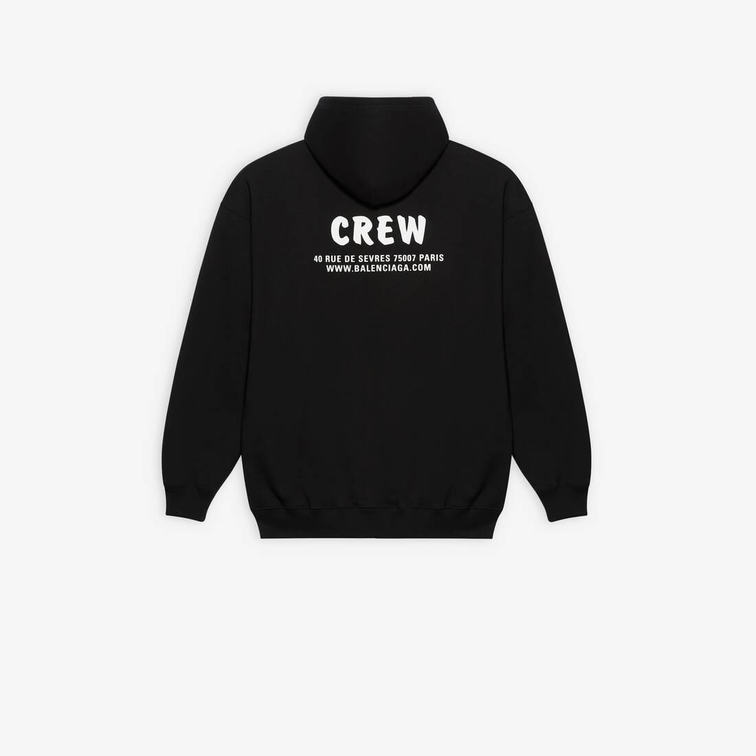 Display zoomed version of crew hoodie 2