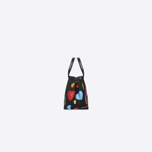archive hearts navy small cabas