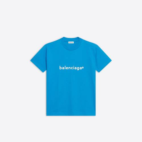 new copyright fitted t-shirt