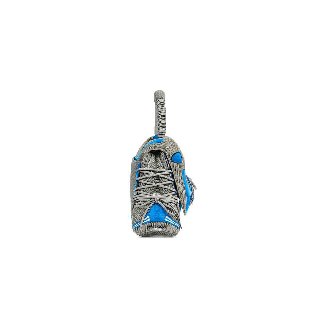 Display zoomed version of sneakerhead medium top handle bag 3