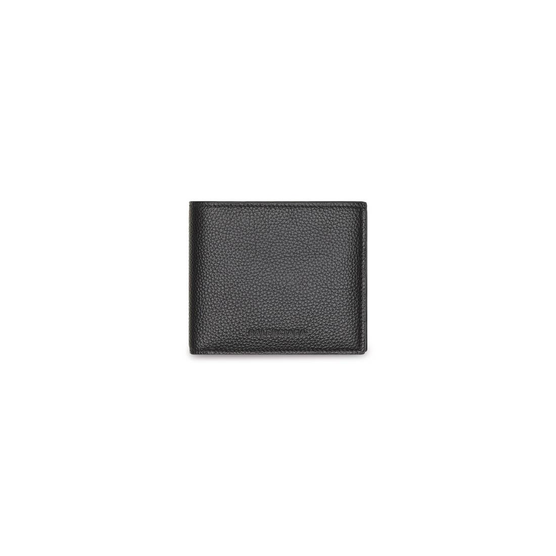 Display zoomed version of essential square folded coin wallet  1