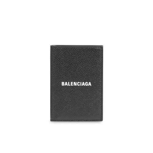 cash vertical bifolded wallet