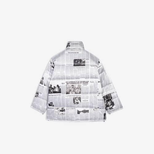 cape puffer jacket