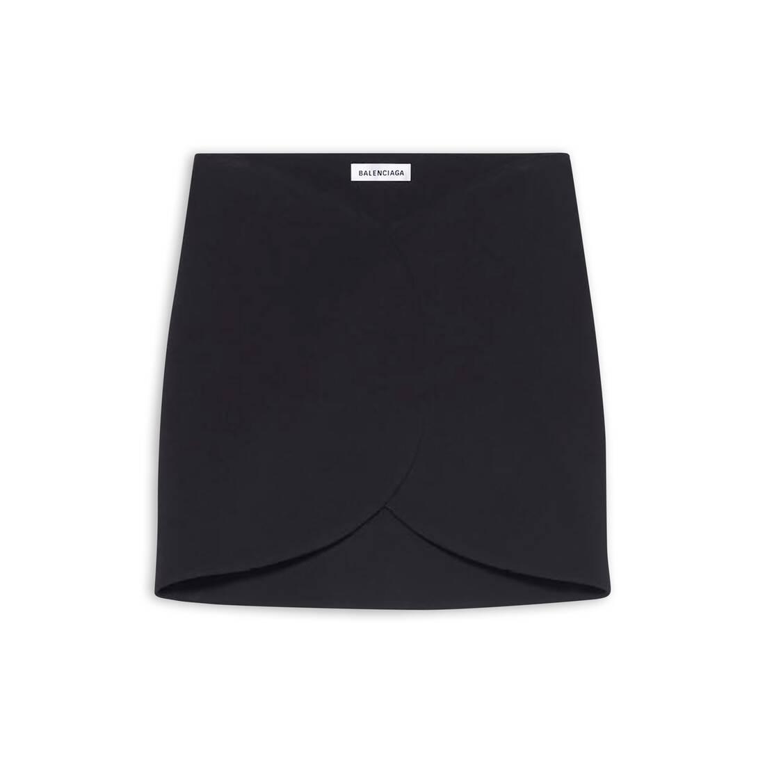 Display zoomed version of circle mini skirt  1