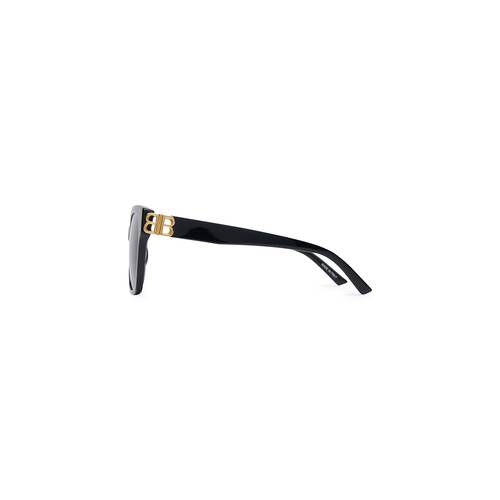adjusted fit dynasty square sunglasses