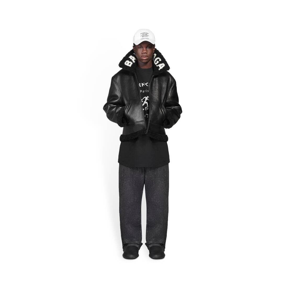 Display zoomed version of cocoon aviator jacket 3