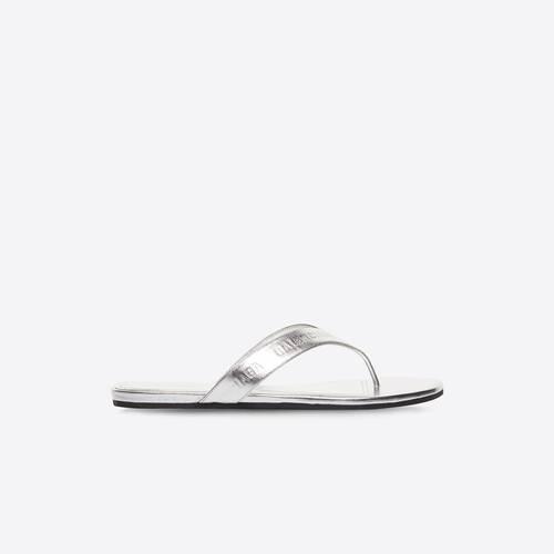 sandale allover logo round