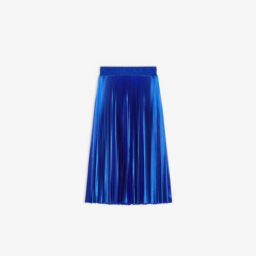 pleated tracksuit skirt