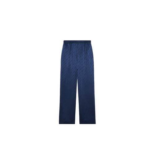 allover logo pajama pants