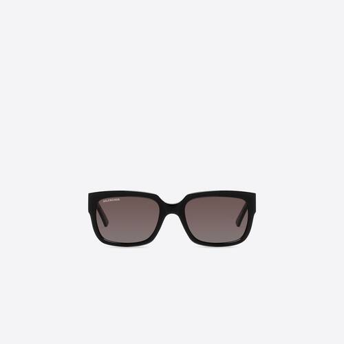 flat d-frame sonnenbrille