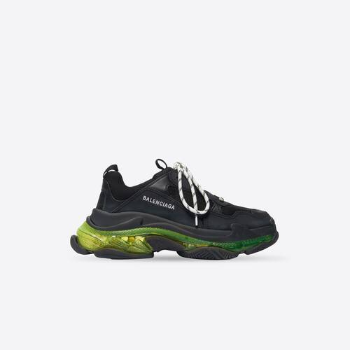 sneaker triple s clear sole