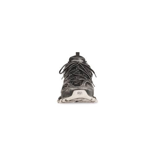 track faded sneaker