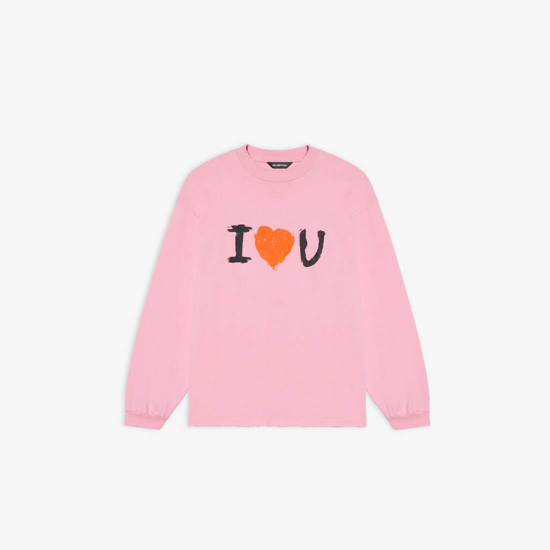 Display zoomed version of i love u medium fit long sleeve t-shirt 1
