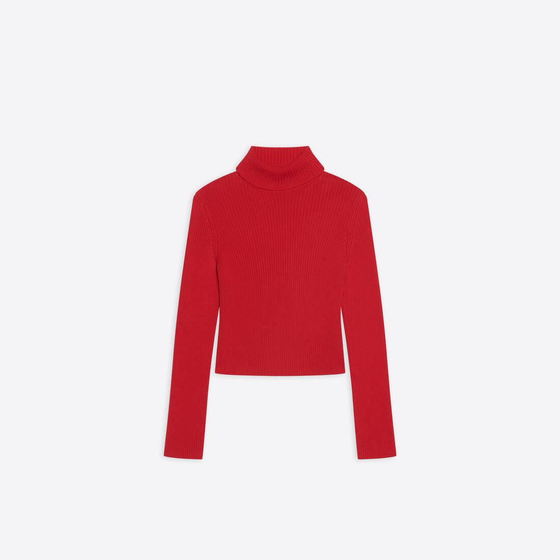 Display zoomed version of free washed out fitted turtleneck  1