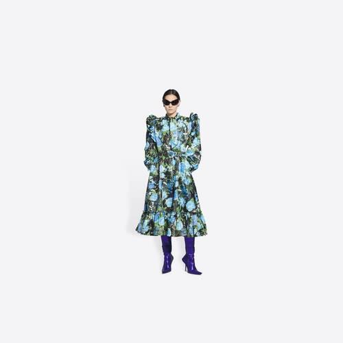 bow dress coat