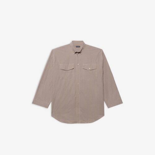 chemise boutonnée oversize