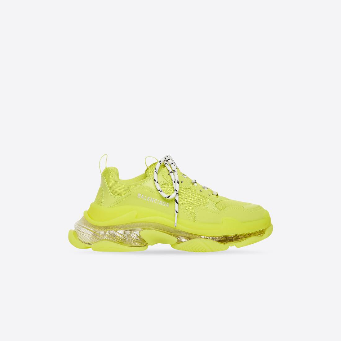 Display zoomed version of triple s clear sole sneaker 1