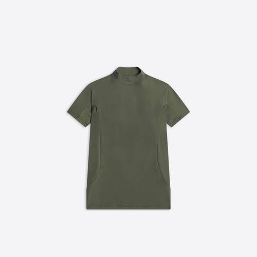 fitted short sleeve top