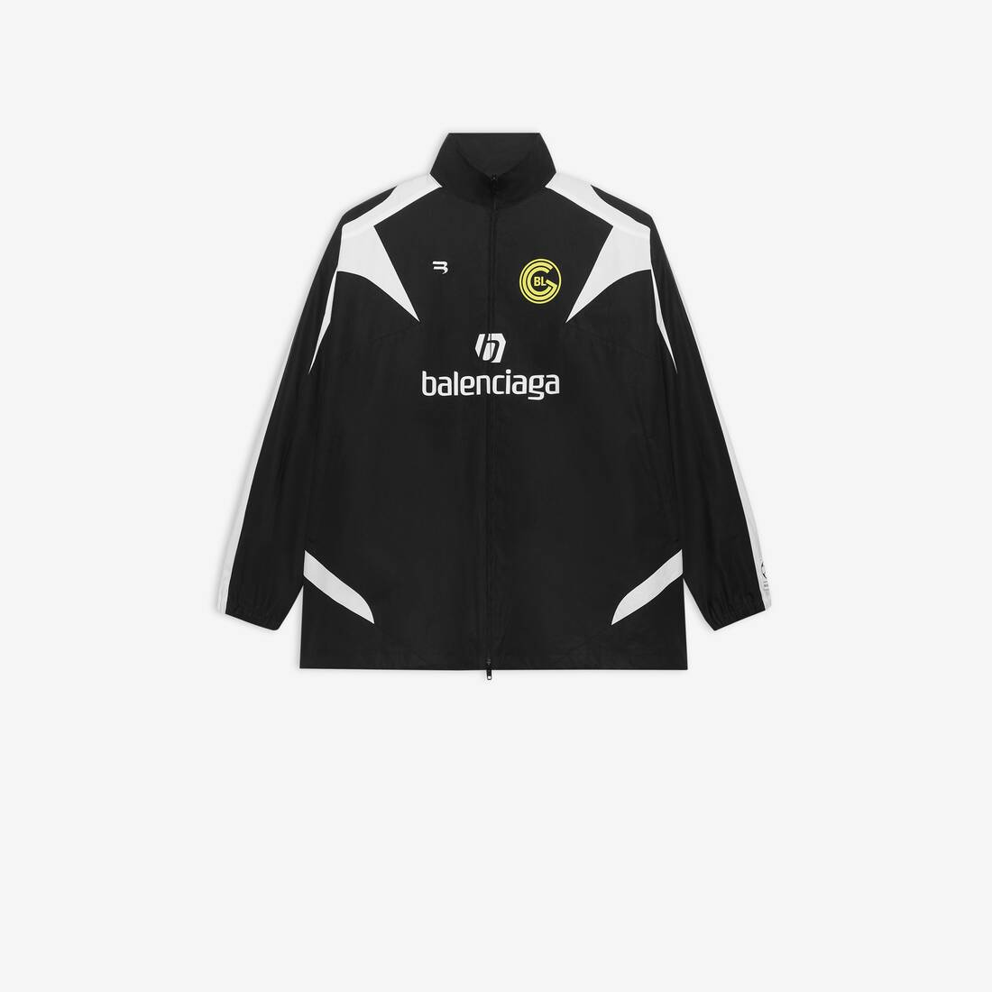 Display zoomed version of soccer zip-up tracksuit 1