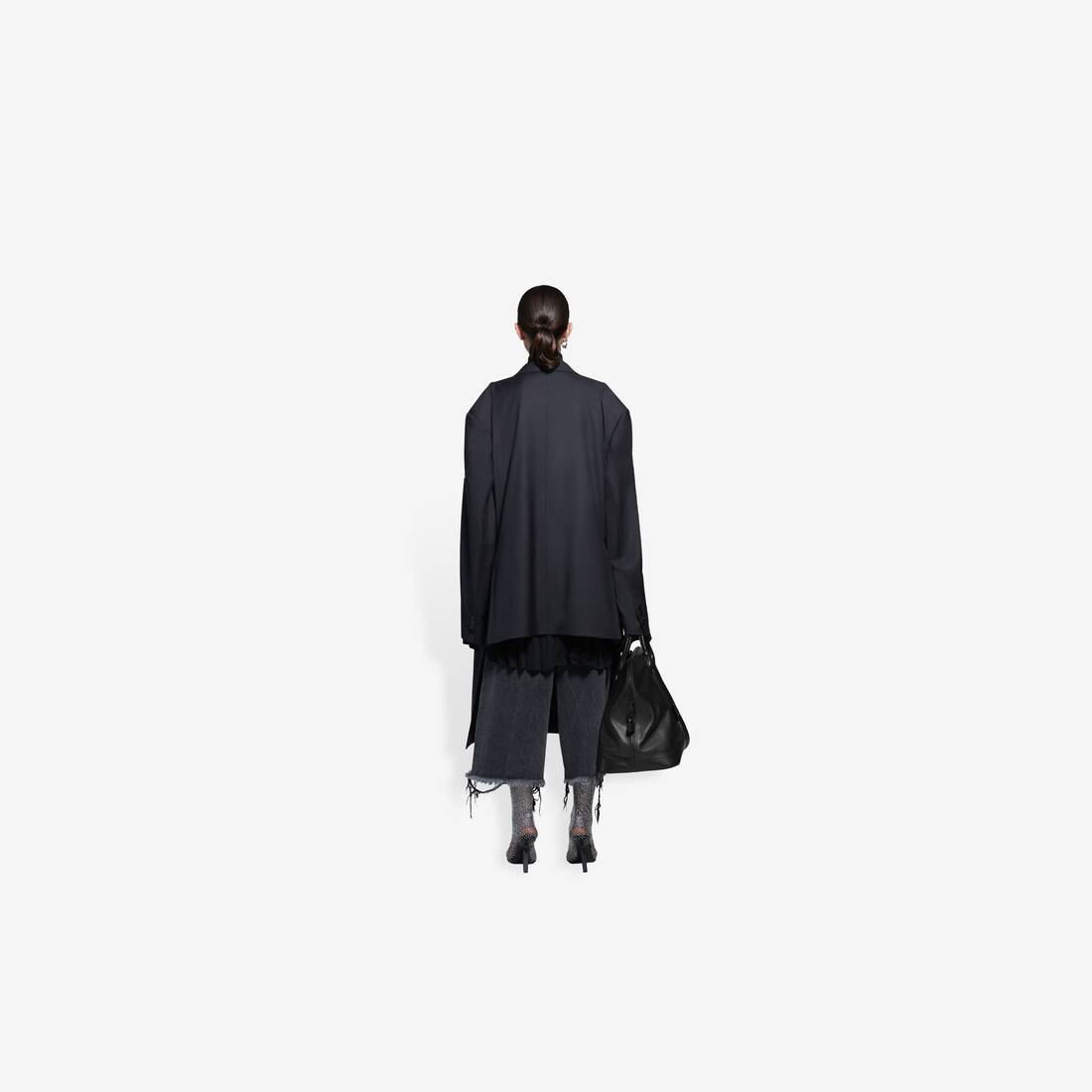 Display zoomed version of hybrid blazer coat 5