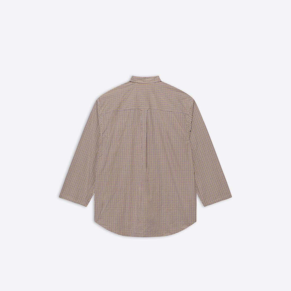 Display zoomed version of oversize button-down shirt 2