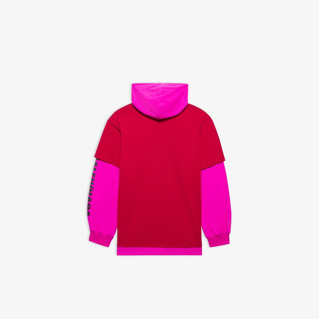 Display zoomed version of your logo here hooded t-shirt 2