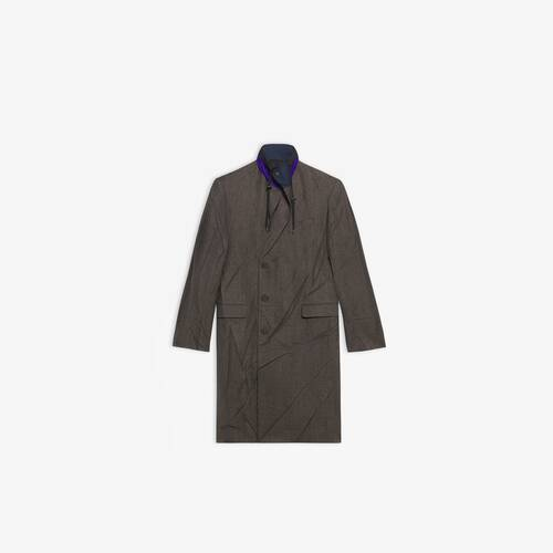 parka tailored coat