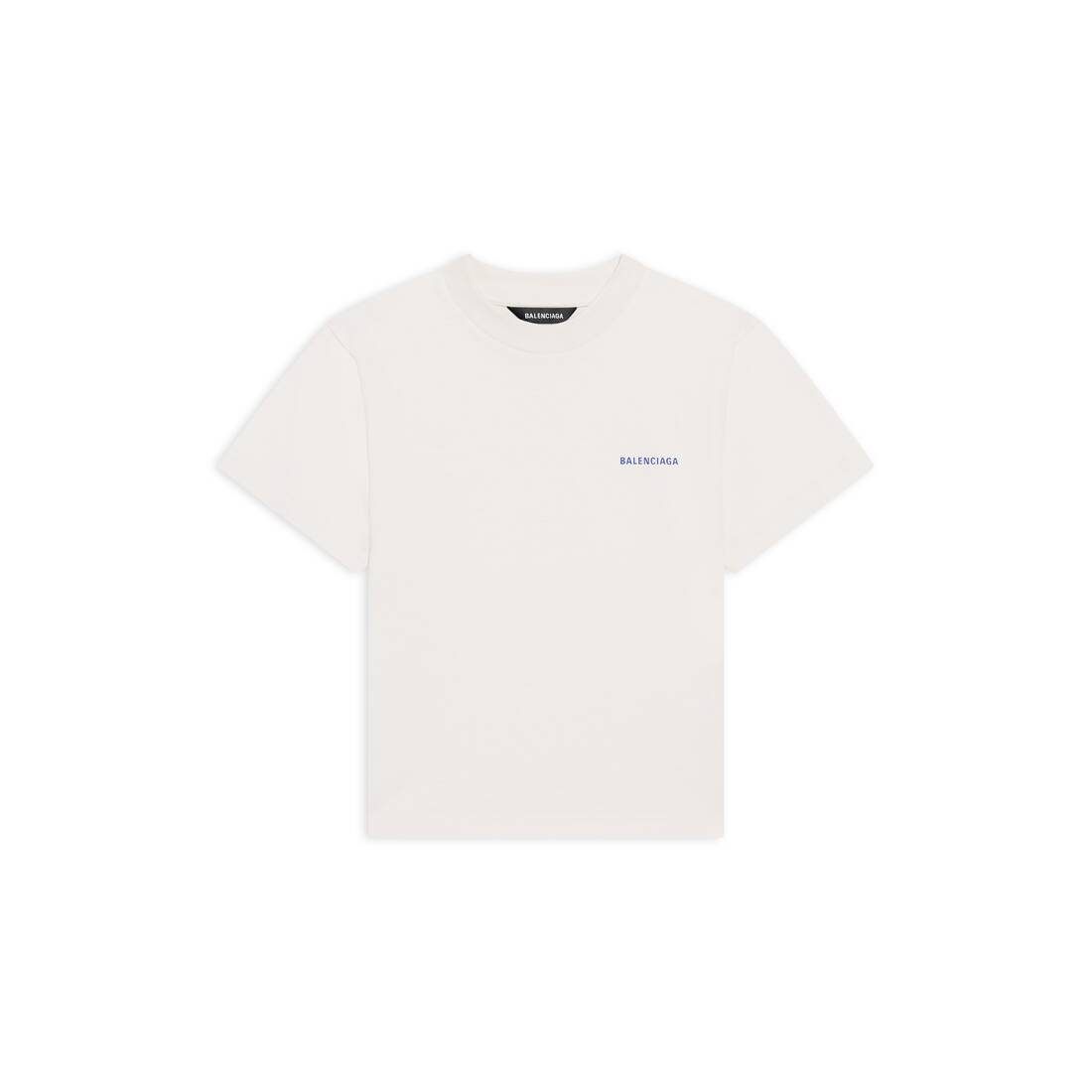 Display zoomed version of kids - balenciaga logo t-shirt 1