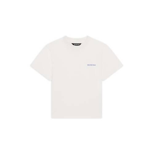 kids – balenciaga logo t-shirt