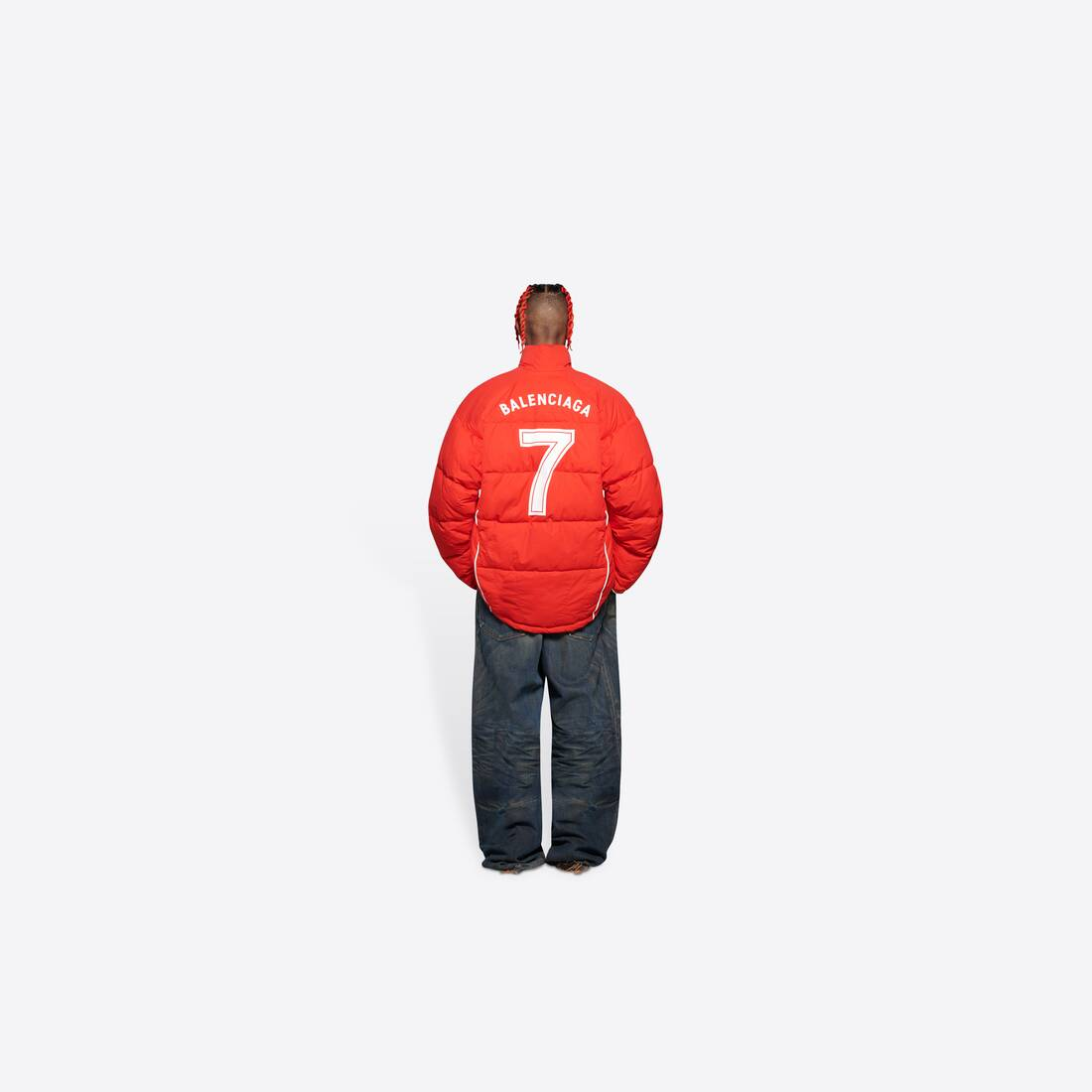 Display zoomed version of soccer puffer jacket 5