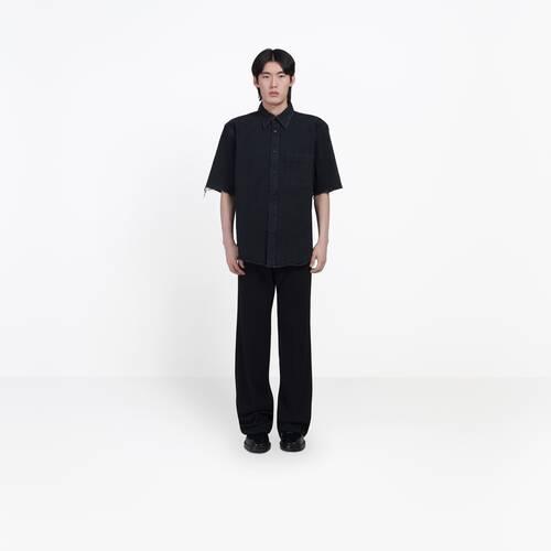 logo short sleeves shirt