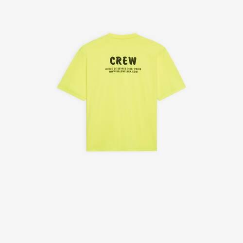 crew large fit t-shirt