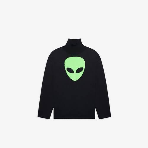 pull col montant alien
