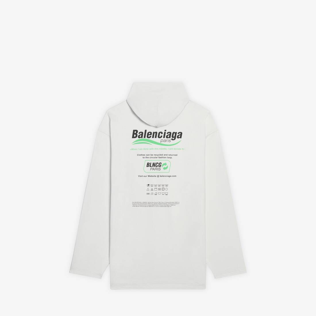 Display zoomed version of dry cleaning hooded t-shirt 2