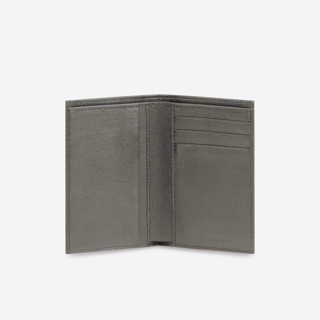 Display zoomed version of portefeuille vertical à deux volets cash 3