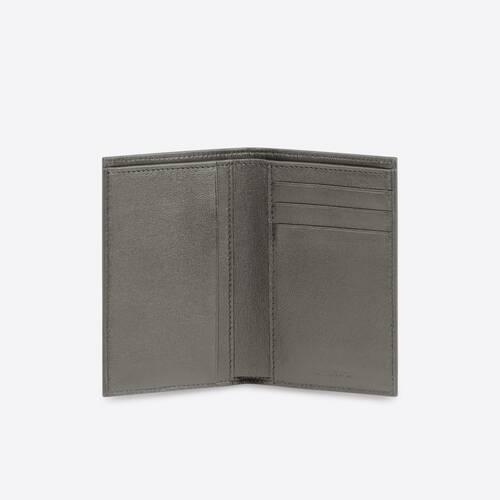 portefeuille vertical à deux volets cash