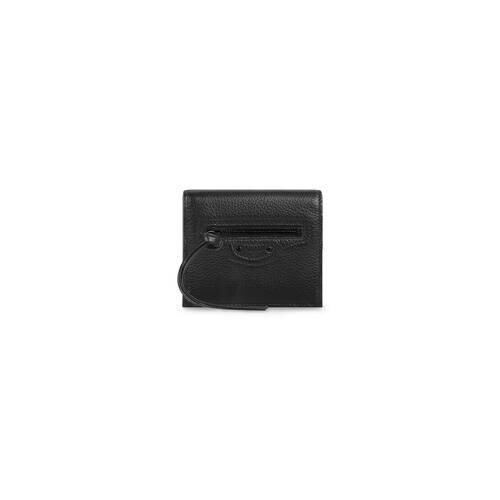 neo classic flap coin and card holder