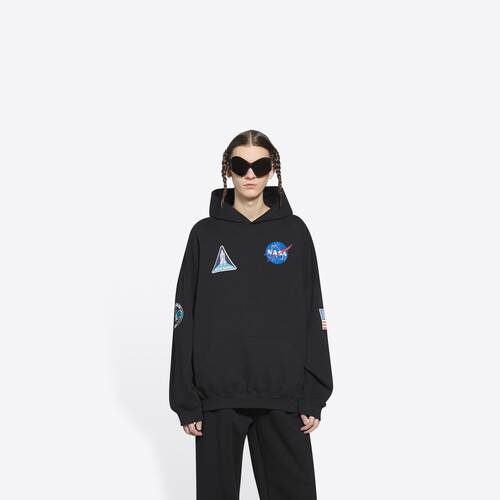 space boxy hoodie