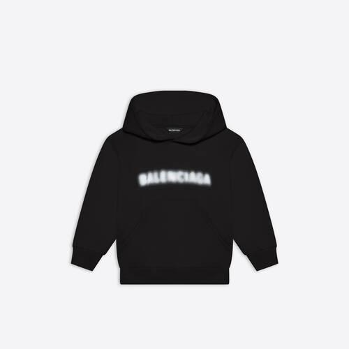 kids - blurry hoodie