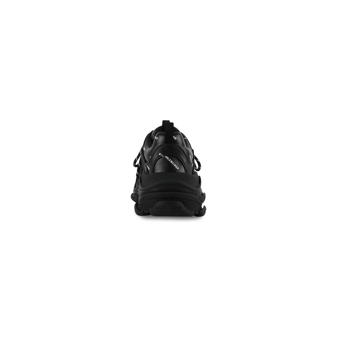 Display zoomed version of allover logo triple s sneaker 2