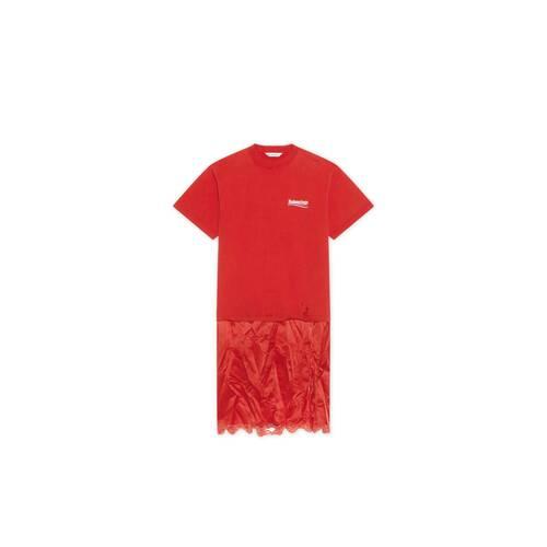 political campaign slip dress t-shirt